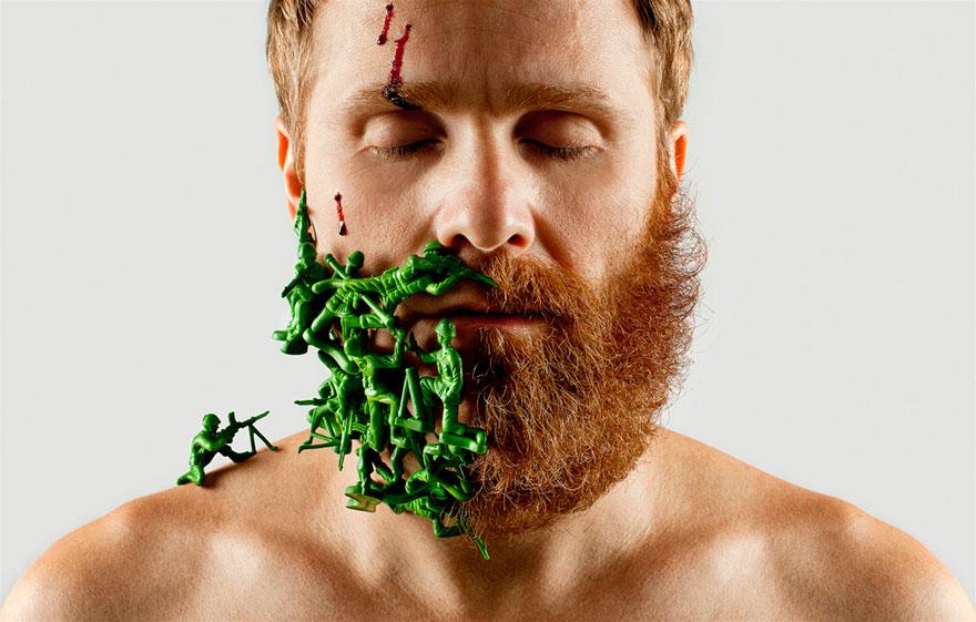 Beard Styles - Fifty Fifty Selfie Barber Shop