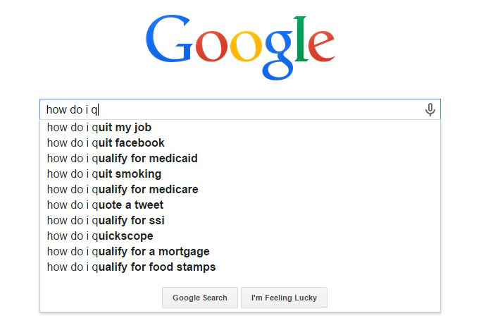 Weirdest Google Search Suggestions - How Do I Quit My Job