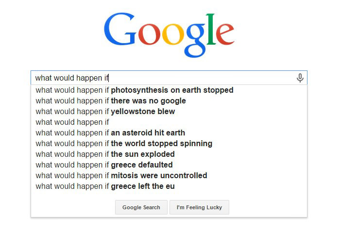 Hilarious Google Search Suggestions - What Would Happened If There Was No Google