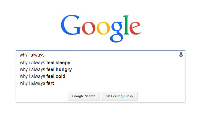 Hilarious Google Search Suggestions - Why I Always Fart