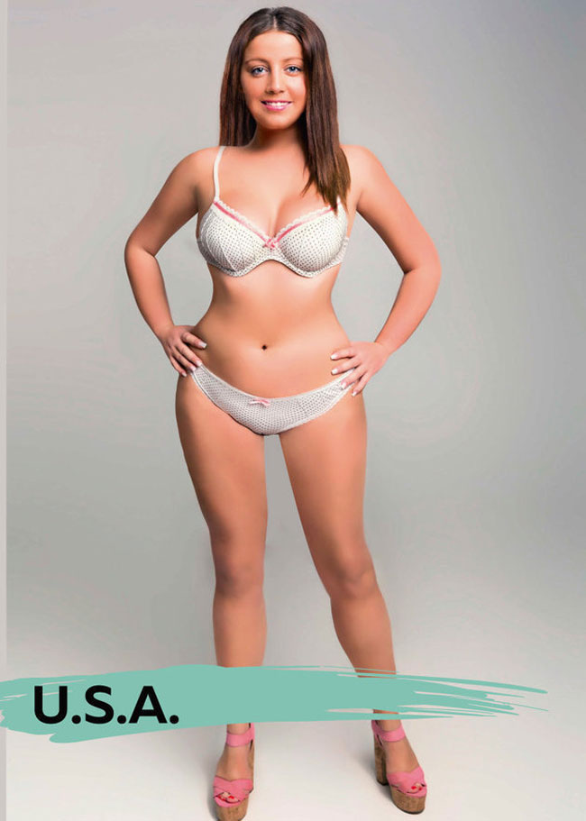 Women Beauty Standards Around The World - United States of America