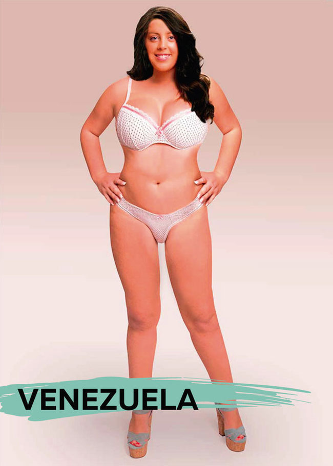 Women Beauty Standards Around The World - Venezuela
