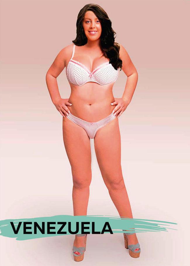 Women Beauty Standards Around The World - Venezuela