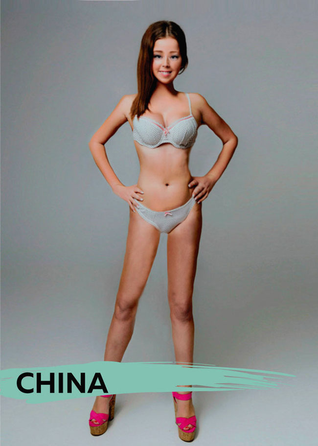 Beauty Standards For Woman Around The World - China