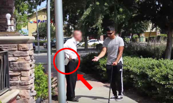 See What Strangers Do to a Blind Man With a Winning Lottery Ticket
