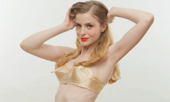 Watch The Evolution of Bras Through Every Fashion Era in History in 3 Minutes