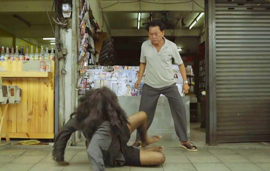 This Man Keeps Beating The Beggar Who Sleeps In Front Of His Store Until He Learns The Truth…