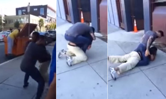 Man Harasses A Jiu Jitsu Fighter's Girlfriend Outside A Gym And Regrets It Immediately!