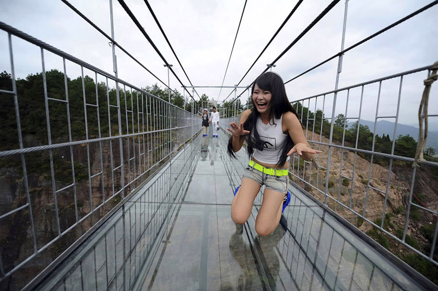 Longest Pedestrian Glass Bridge In The World