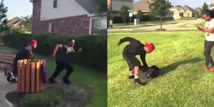 Brother Beats His Sister's Abusive Boyfriend and Returns Some Serious Justice in The Park