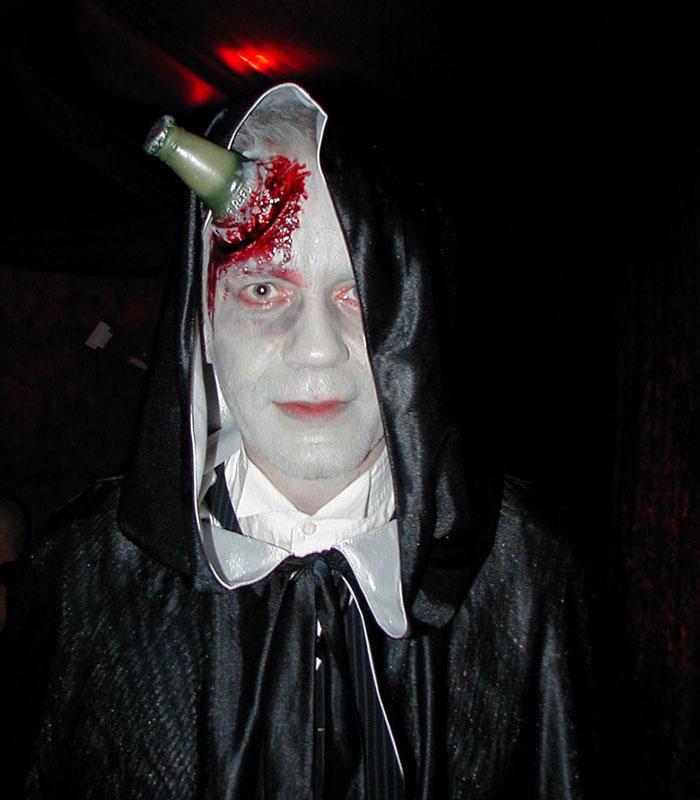 Halloween Makeup Ideas - Message In A Bottle Zombie