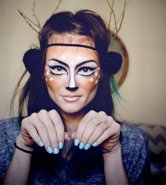 Scary Halloween Masks - Bambi