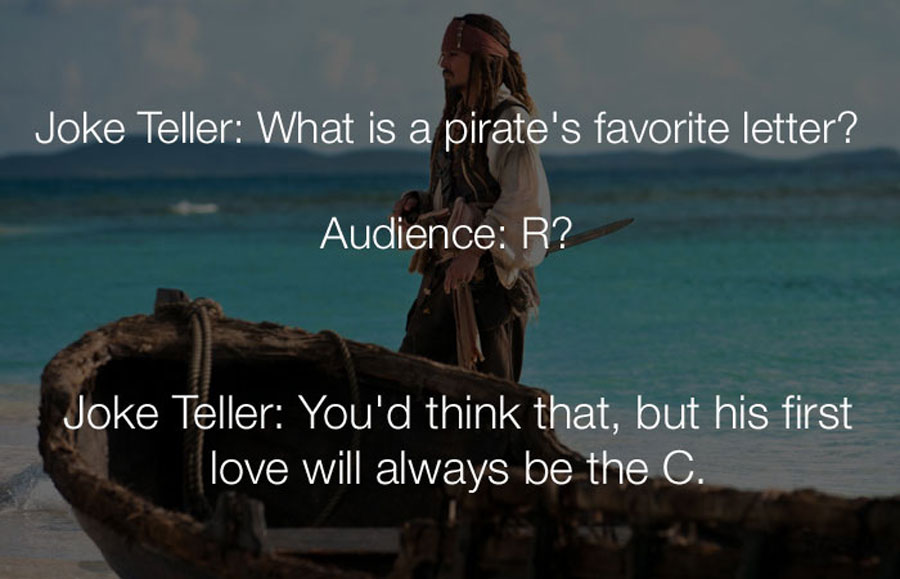 Funny Jokes - What is a pirates favorite letter.
