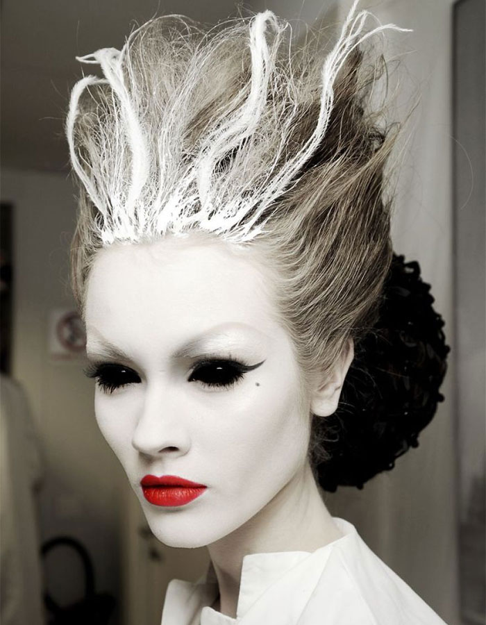 Scary Halloween Makeup - Ice Queen