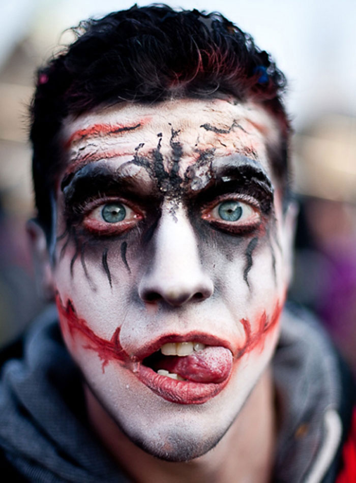 Halloween Makeup Ideas - Joker