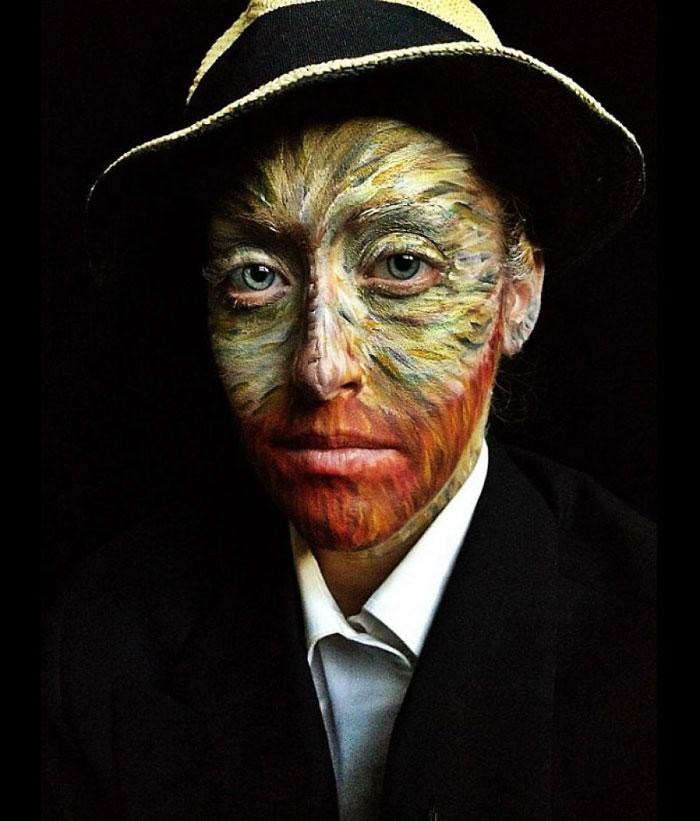 Scary Halloween Masks - Van Gogh
