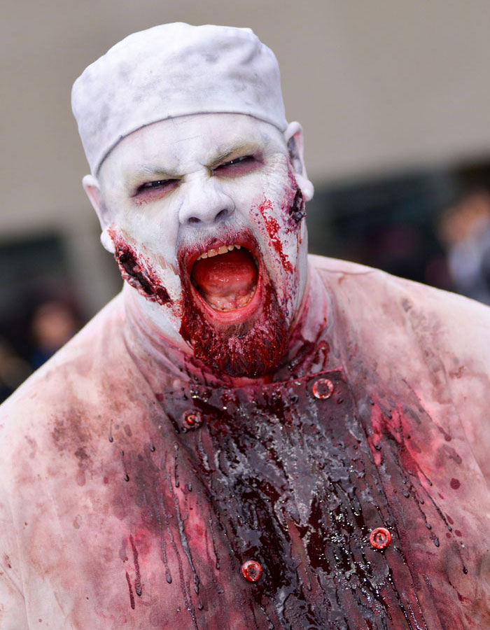 Scary Halloween Masks - Zombie Chef