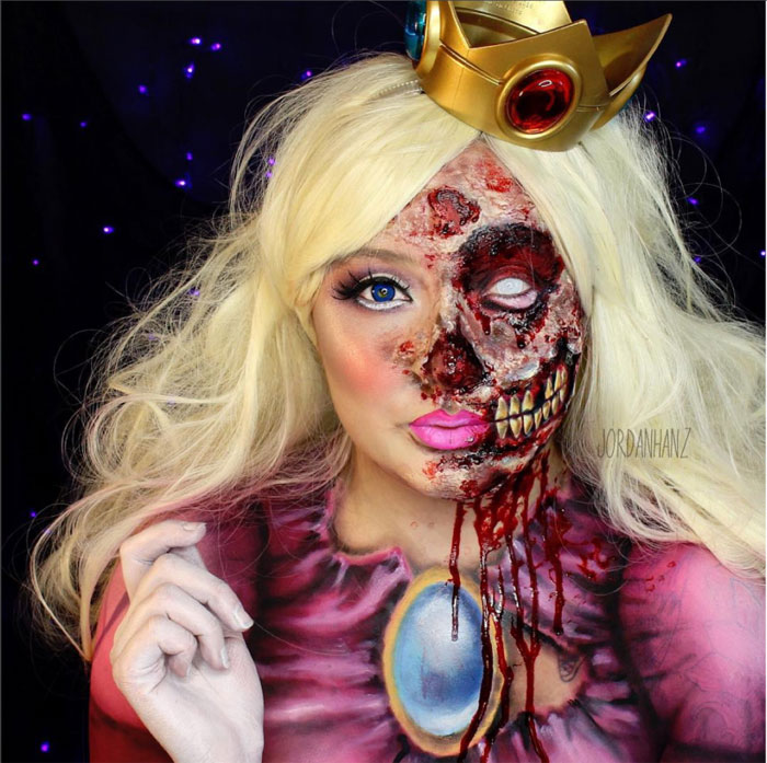 Scary Halloween Makeup - Zombie Queen