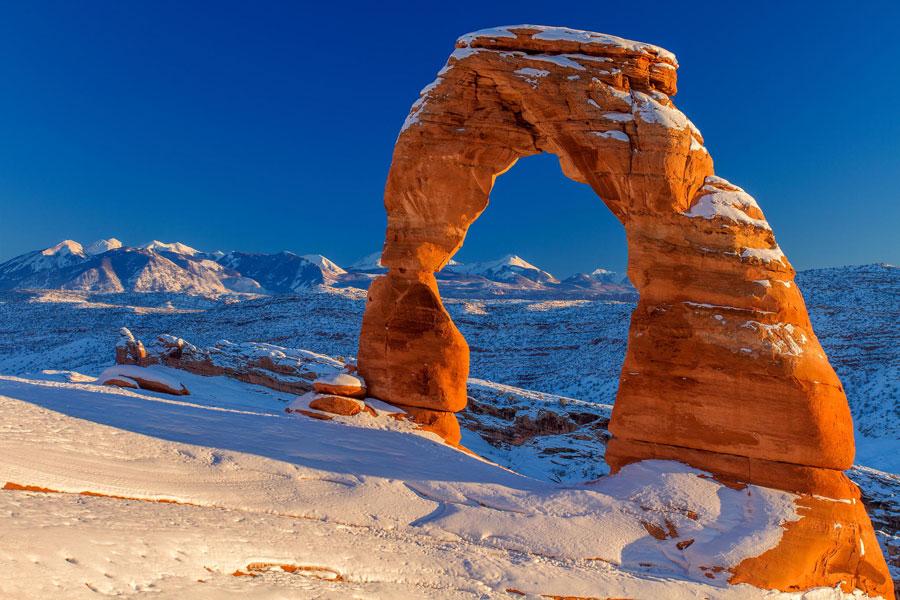 Winter Landscape - Delicate Arch, United States