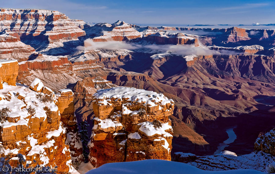 Winter Scenes - Grand Canyon, United States