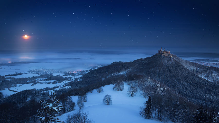 Winter Images - Hohenzollern Castle, Germany