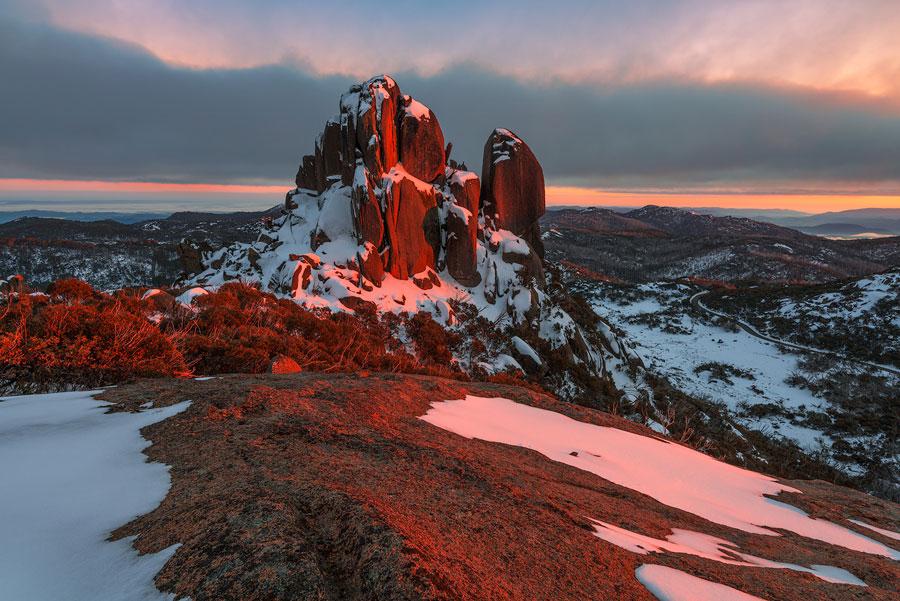 Winter Landscape - Mount Buffalo, Victoria, Australia
