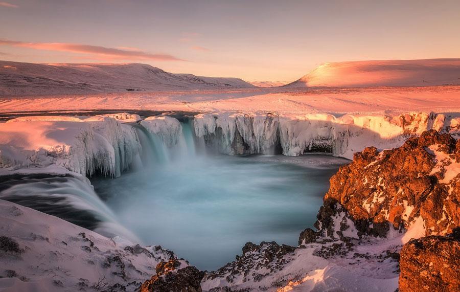 Winter Images - Skjalfandafljot, Iceland