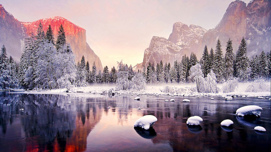 Winter Pictures - Yosemite National Park, California, United States