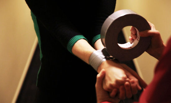 He Ties Her Hands With Duct Tape. How She Escapes? EVERYONE Should Know This Trick!