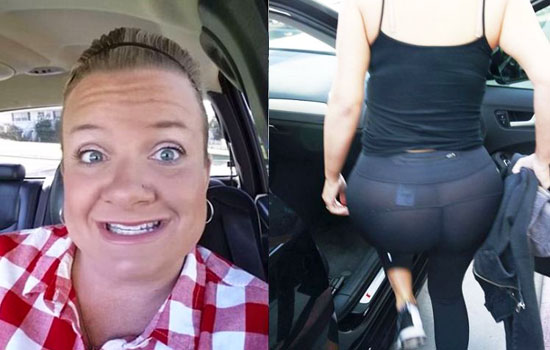 She Sees A Girl Wearing Leggings As Pants, So Decides To Do THIS!