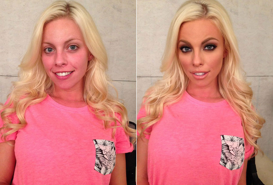 Incredible Before and After Makeup Photos - Brittany Amber