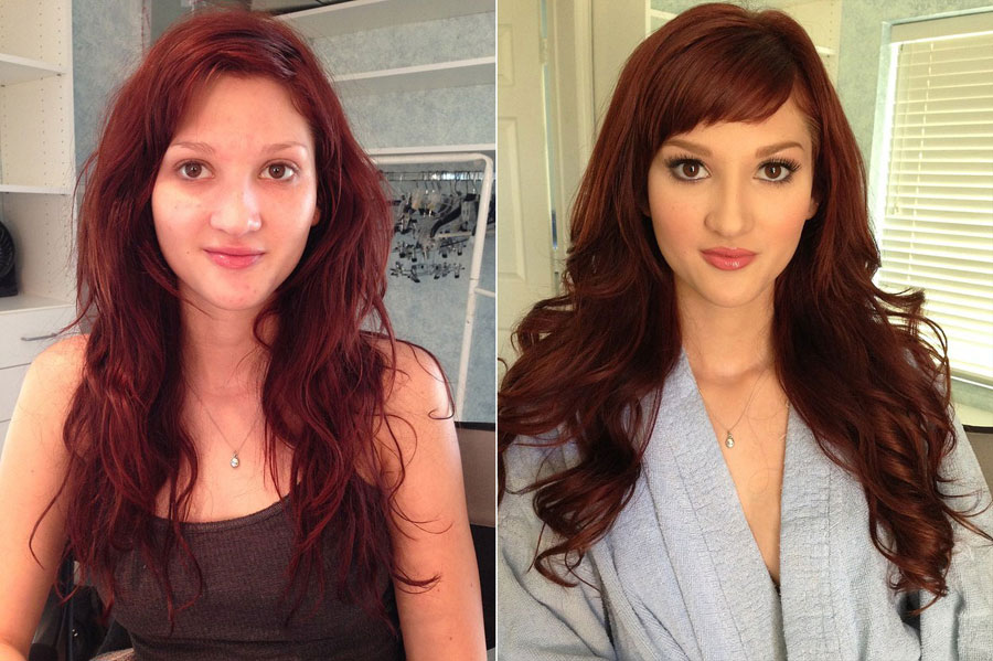 Stunning Before and After Makeup Photos - Ellena Woods