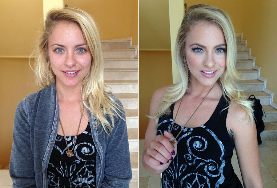 Before and After Makeup Transformation Photos - Cameron Canada