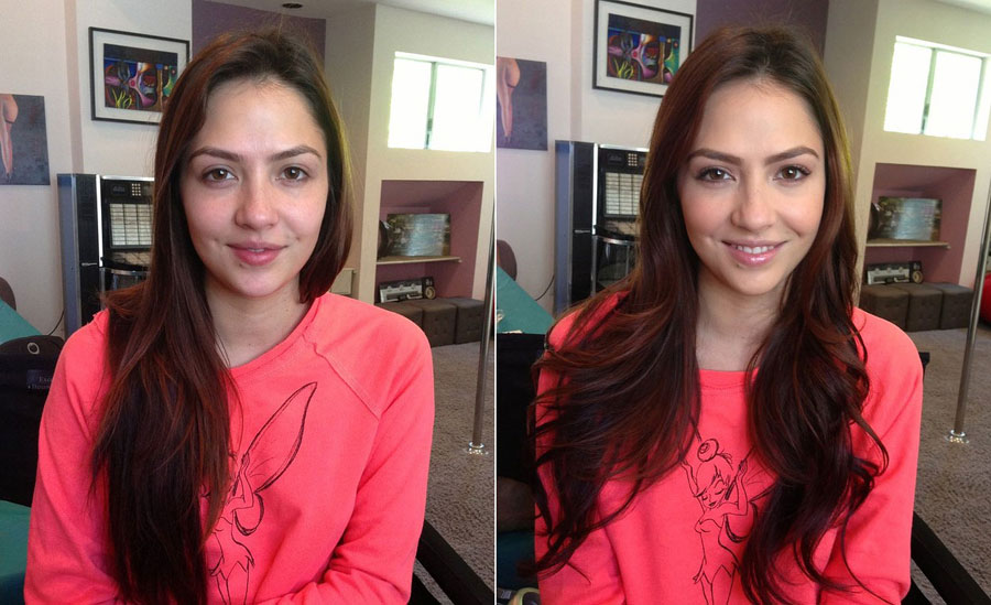 Stunning Before and After Makeup Photos - Cassie Laine