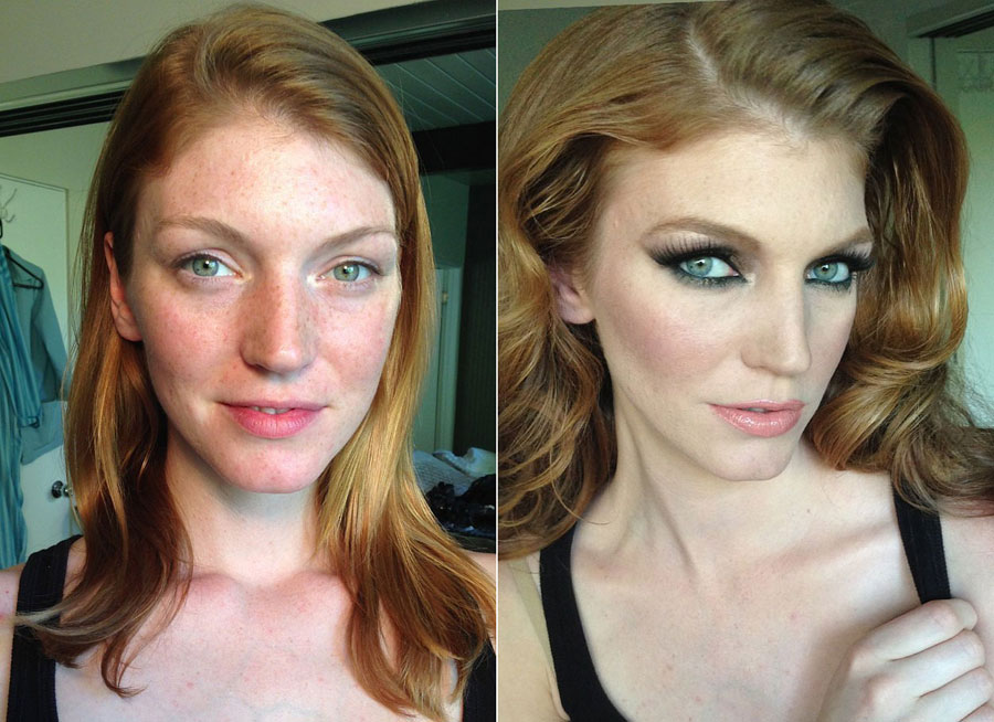 Incredible Before and After Makeup Photos - Jana Rochelle