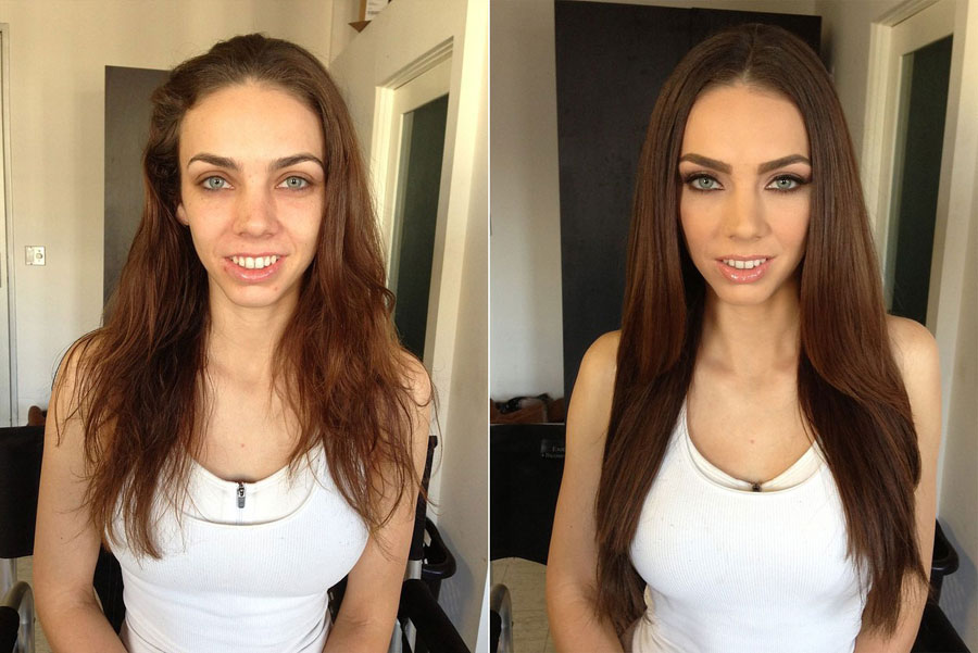 Stunning Before and After Makeup Photos - Tiffany Tyler