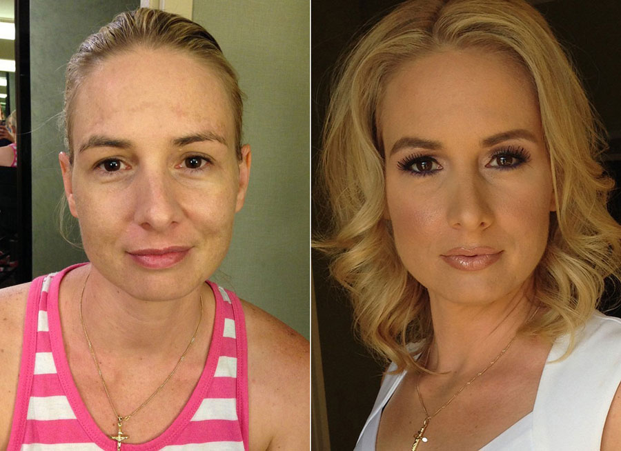 Incredible Before and After Makeup Photos - Ruby Gallery