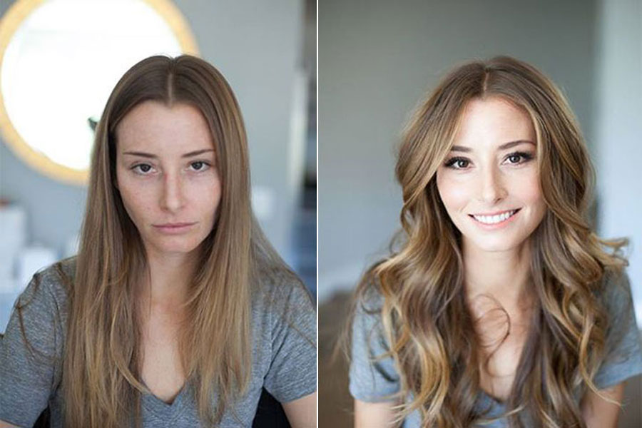 Incredible Before and After Makeup Photos
