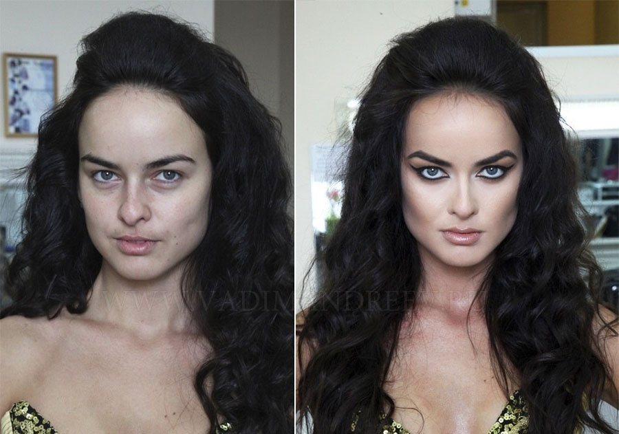 Stunning Before and After Makeup Photos