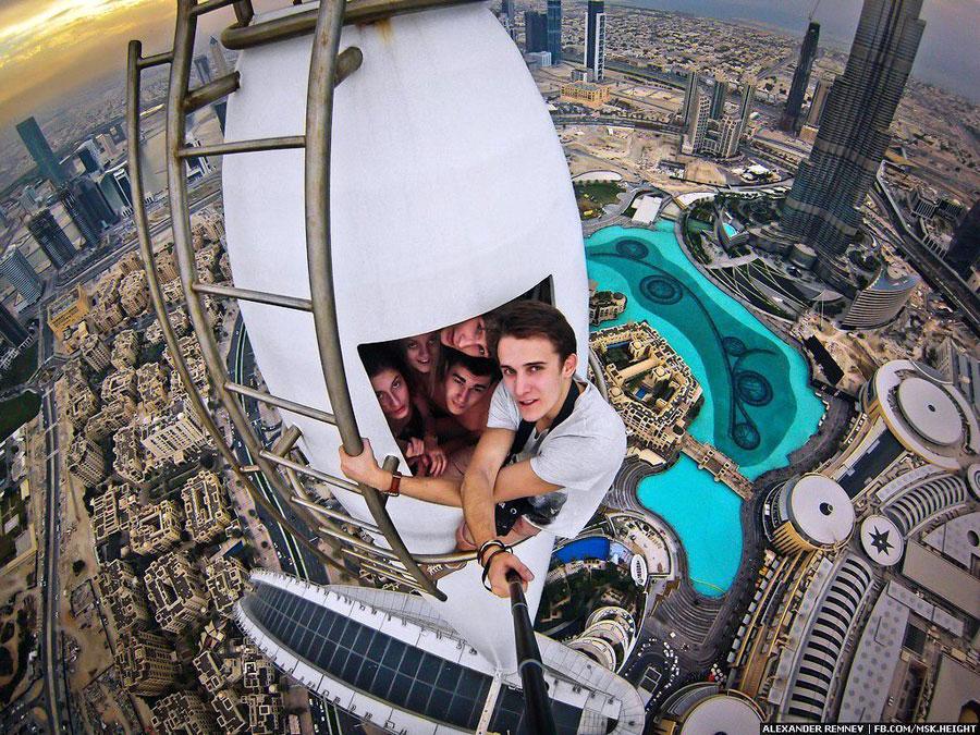 Extreme Selfies