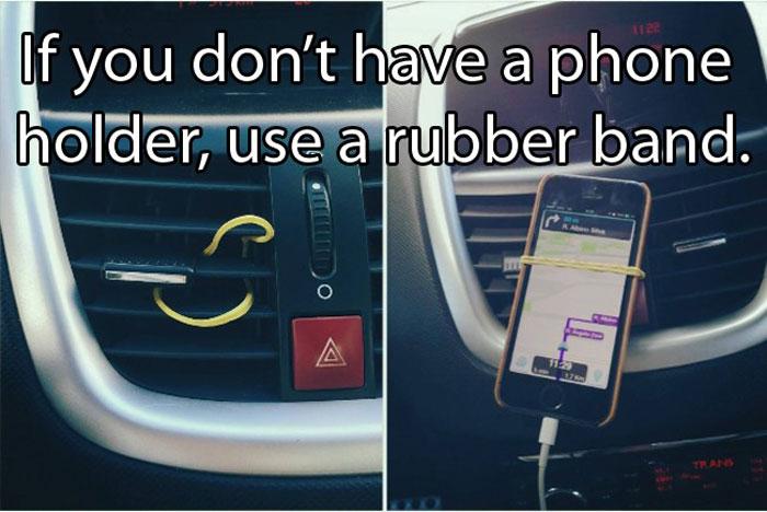 Car Hacks - Your very own custom phone holder