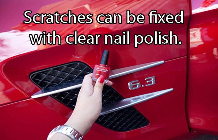Best Car Hacks - Cheapest way to fix a scratch on car