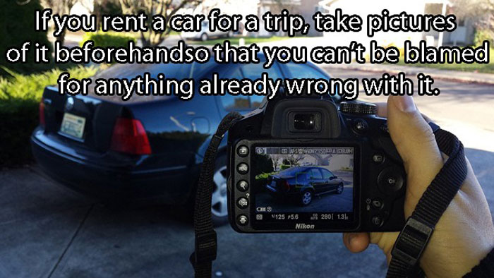 Best Car Hacks - Do this before driving a rented car