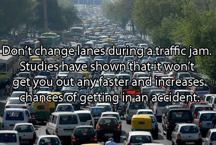 Car Life Hacks - Is it good changing lanes during traffics