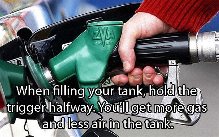 Crazy Car Hacks - Gas filling trick