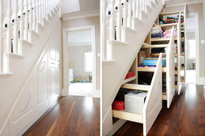 Furniture Design Ideas - Understairs storage