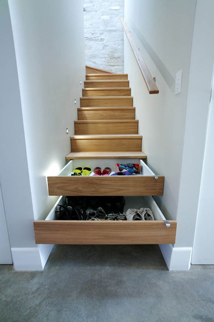 Creative Furniture Designs - Stair drawers