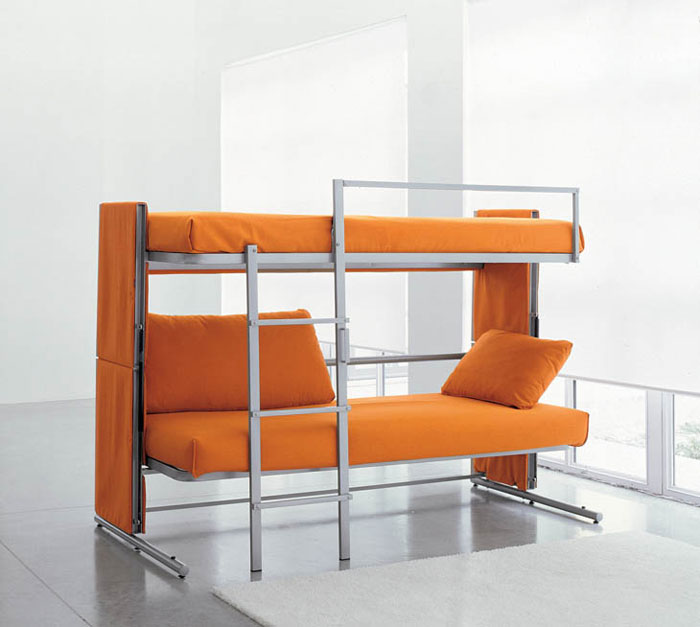 Unique Furniture Designs - Sofa bunk bed