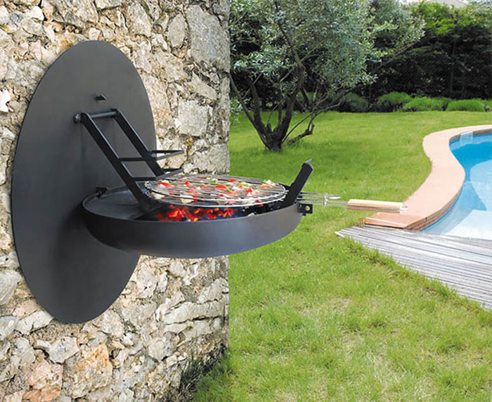 Innovative Furniture Design - Open-and-close barbecue