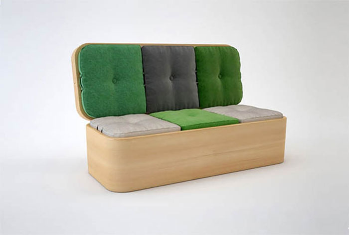 Creative Furniture Design Ideas - Convertible sofa